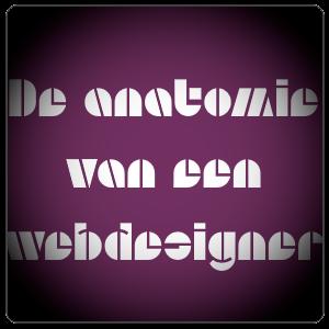 de anatomie van een webdesigner